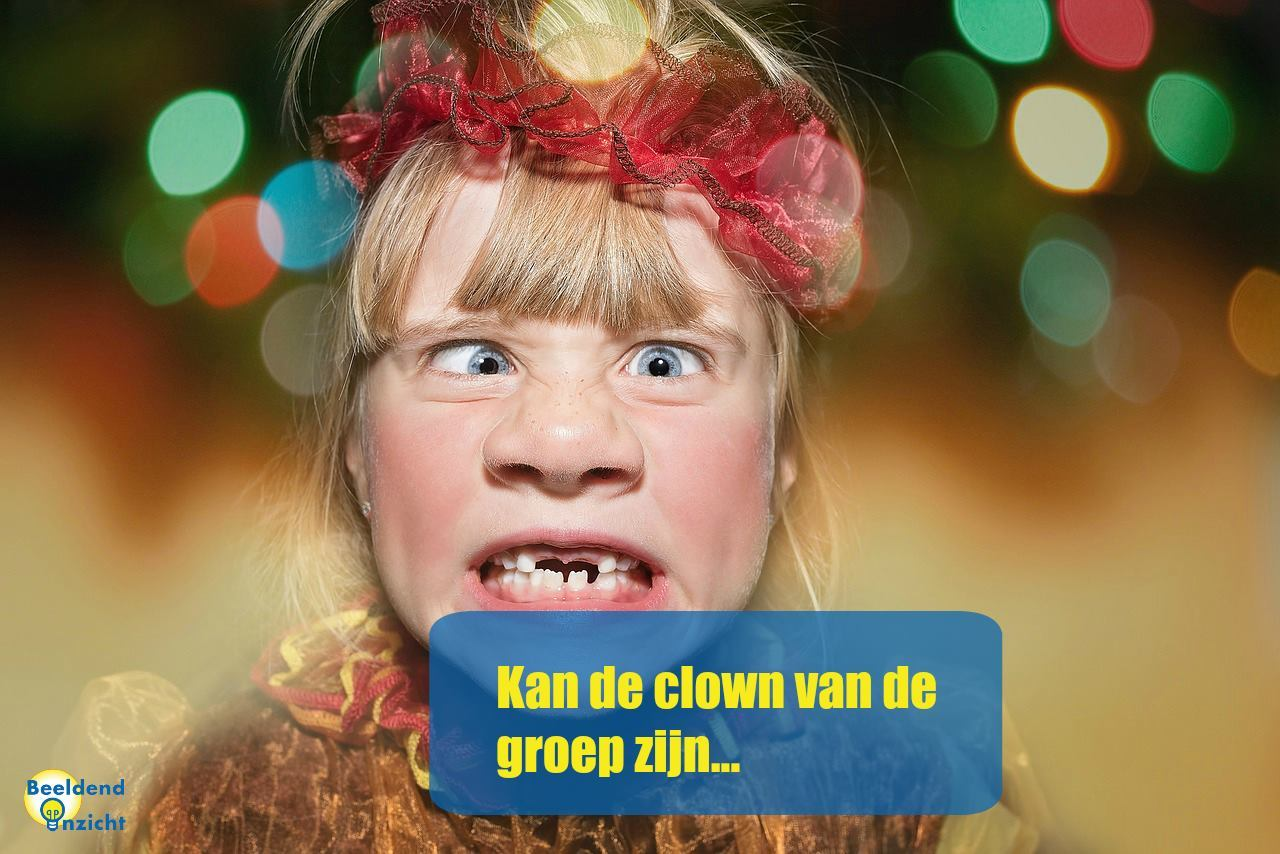 kenmerken beelddenken clown